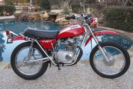 Honda SL175 Parts