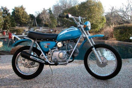 Honda SL70 Parts