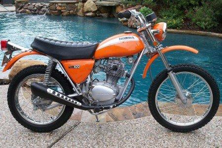 Honda SL100 Parts